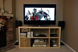 Expedit Bench Ikea Expedit Customized Tv Bench I Couldn U0027t Find A Specifi U2026 Flickr