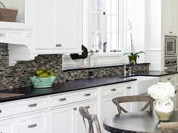 kitchen backsplash white cabinets backsplashes for white pleasing kitchen backsplash white cabinets