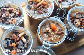 conservation plat cuisiné recette boeuf bourguignon d apres mr yves camdeborde et