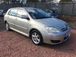 used toyota corolla diesel for sale motors co uk