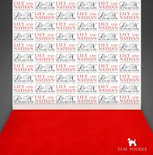 photo booth background groom names carpet event custom photo booth backdrop