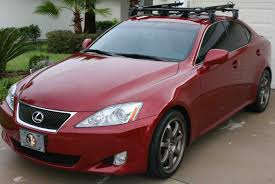 toyota lexus is 250 need help with trunk mounting bike rack for my 08 is250 help