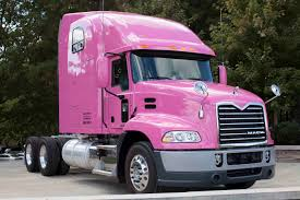 new model kenworth trucks mack trucks showcases its support for breast cancer awareness with