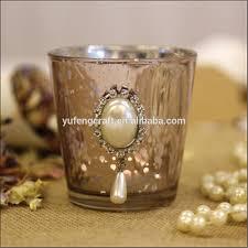 bougie marocaine photophore diamante rose mercury photophore bougie romantique tasse