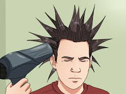 crown spiked hair styles how to liberty spike your hair 12 steps with pictures wikihow