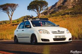 stanced toyota corolla xrossed cultured resistance lifestyle
