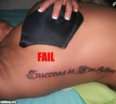 little dark black star tattoo on hand