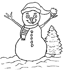 funny christmas coloring pages 12 funny christmas snowman