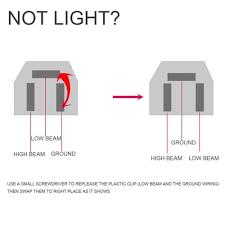 headlights for toyota landcruiser 61 62 80 series low beam high