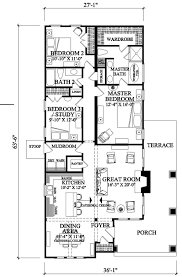 craftsman style open floor plans craftsman style house plan 3 beds 2 baths 1628 sq ft plan 137 267