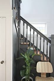 Stairwell Banister The 25 Best Ideas About Painted Banister On Pinterest Spindles