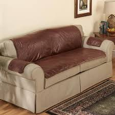 slipcovers for leather sofa and loveseat distressed leather couch seat covers picture home decor