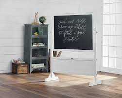 homeroom standing chalkboard jo u0027s white magnolia home
