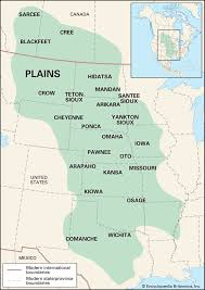 Native American Map Newsela Native American Cultures The Great Plains