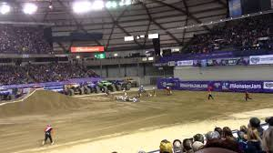 monster truck show tacoma dome monster jam tacoma dome 2014 motorcycle crash youtube