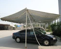 Double Car Garage by Double Sided Retractable Car Camping Garage Awning Buy Garage
