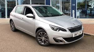 peugeot grey used peugeot 308 allure silver cars for sale motors co uk