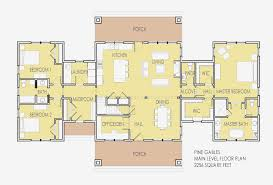 house plans with dual master suites 5 bedroom house plans with 2 master suites unique single story 2