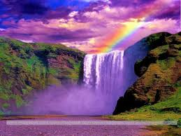 desktop wallpapers waterfalls with rainbow awesome 42 waterfalls