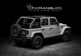 2019 jeep wrangler pickup truck 2018 jeep wrangler jl to debut with 368 hp 2 liter turbo engine