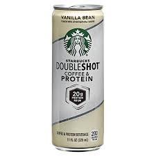 starbucks doubleshot vanilla light starbucks doubleshot vanilla bean coffee protein beverage 11 oz