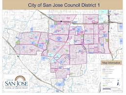 san jose district map district 1 map community resources