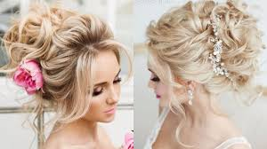 bridal hairstyles for blonde wedding styling tutorial