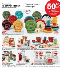 fiesta kitchen canisters elder beerman black friday ad 2017