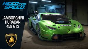 Lamborghini Huracan Wide Body - need for speed 2015 lamborghini huracán 458 gt3 youtube