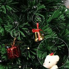 100pcs ornament hooks stainless steel s shaped hangers for