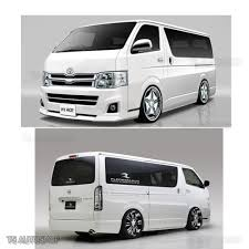 van toyota 08 u2013 16 fender flares wheel arch stainless 4dr for toyota hiace