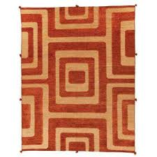 6 x 9 orange area rugs rugs the home depot