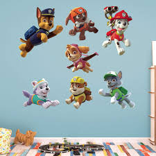 fathead paw patrol paw patrol puppies wall decal collection