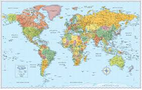 wall maps signature edition world wall maps rand mcnally store