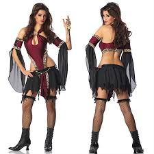Halloween Pirate Costumes Women Compare Prices Caribbean Women Shopping Buy