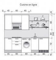 les diff駻ents types de cuisine cuisine de 6m2 awesome plan de cuisine les différents types