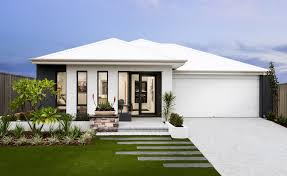 Modern Elevation Create A Feature By Painting A Receding Area In A Dark Colour