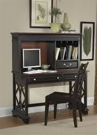 writing desk with hutch ives writing desk with hutch in chocolate cherry finish by liberty