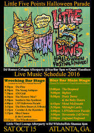 halloween cologne entertainment schedule u2013 little 5 points halloween festival and parade