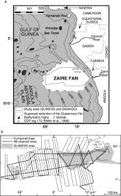 architecture of an active mud rich turbidite system the zaire fan