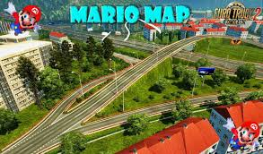 Uo Map Mario Map V12 2 Updated 1 27 X Simulator Games 2017 Mods Ets2