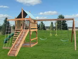 Diy Backyard Swing Set Diy Wooden Swing Set Plans Free Resolve40 Com