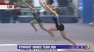 Desert Lights Gymnastics Chandler Gymnast Makes National Team Eyes 2016 Olympics