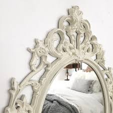 black and white mirror distressed wall hanging mirror off