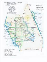 Map Of Sebring Florida by Service Area Map
