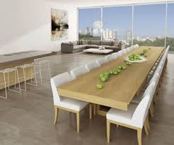 Extended Dining Table by Dining Wallpaper Designs For Dining Room