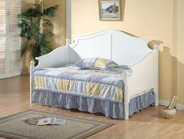 pier 1 daybed white wooden day bed with double storage combined
