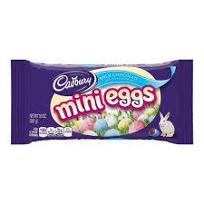 easter egg gum cadbury easter chocolate candy mini eggs 10 ounce