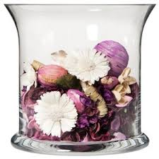 Glass Vase Filler Threshold Glass Hurricane Vase With Potpourri Vase Filler Polyvore