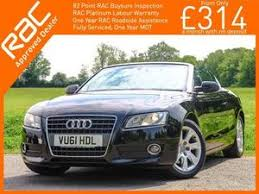 audi crawley used cars used convertible audi a5 cars for sale in crawley friday ad